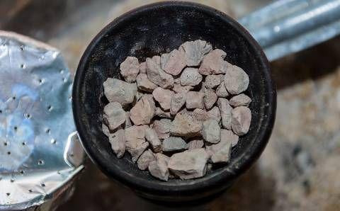 Курительные камни после использования