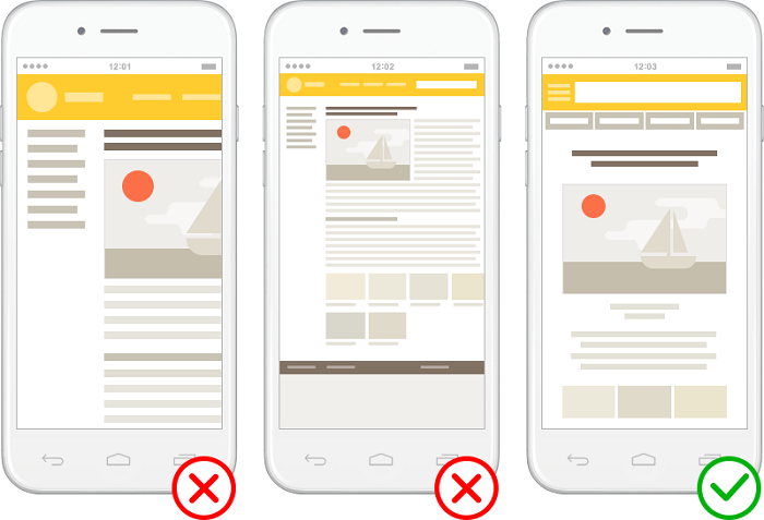 Как должна выглядеть мобильная версия сайта