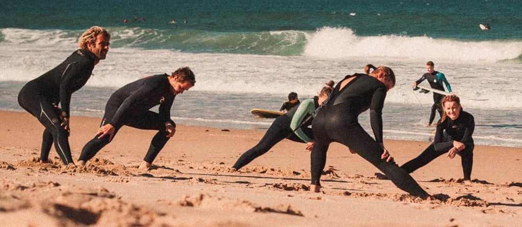 Не халтурь на разминке перед серфингом