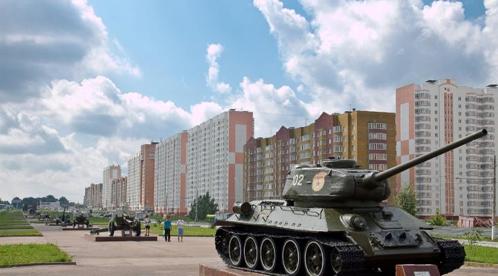 город Курск путешествие на машине