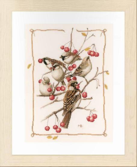 Новинка Lanarte 2016, птицы