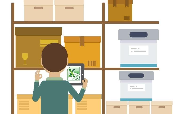 Складской учет товаров в Excel теряет свою актуальность