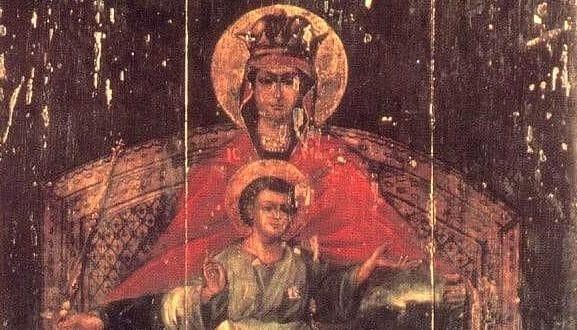 Икона Богородицы Державная