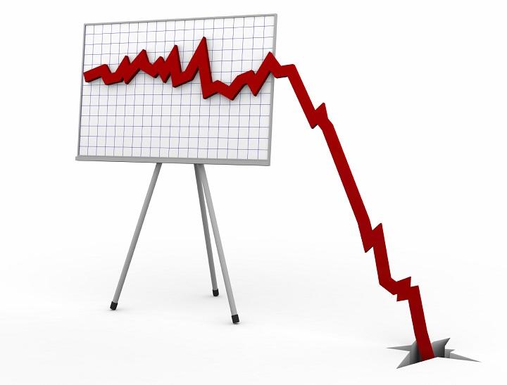 сезонный спад продаж