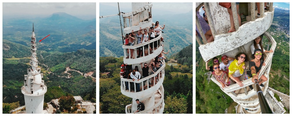 Башня 4-х религий, Шри Ланка