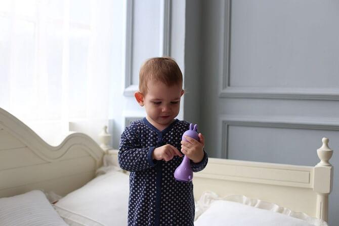 Игрушка Alilo зайка R1 Фиолетовый