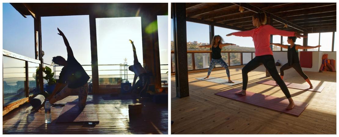 Серфинг йога кемп в Марокко