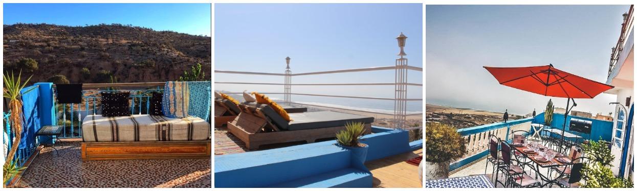 Серф вилла в Марокко с видом на океан