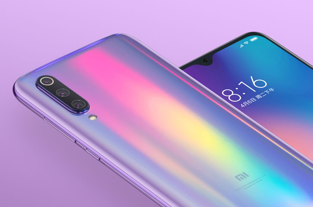 Смартфон Xiaomi Mi 9 зеркальный