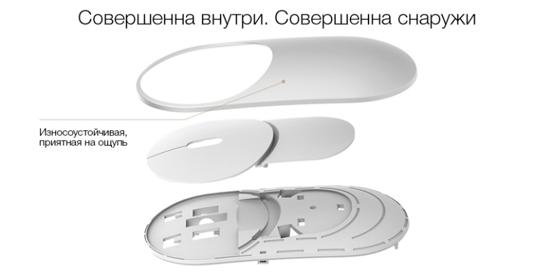 Мышь Xiaomi Mi Mouse Gray Bluetooth