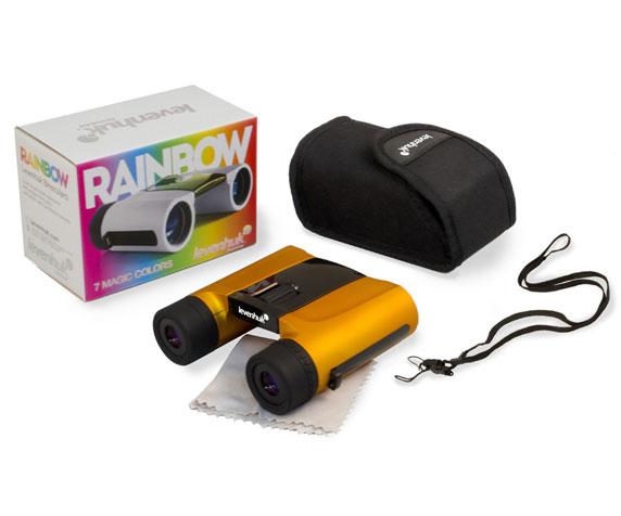 Бинокль Levenhuk Rainbow 8x25 Orange: комплект поставки