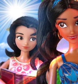 Куклы Елена из Авалора и Изабель (поющие) от Disney