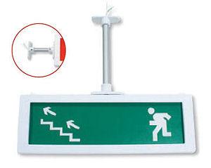 Универсальный кронштейн для крепления светового табло «Выход» МОЛНИЯ-2-12 и МОЛНИЯ-2-24