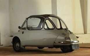 Автомобиль из серии микро Heinkel Kabine