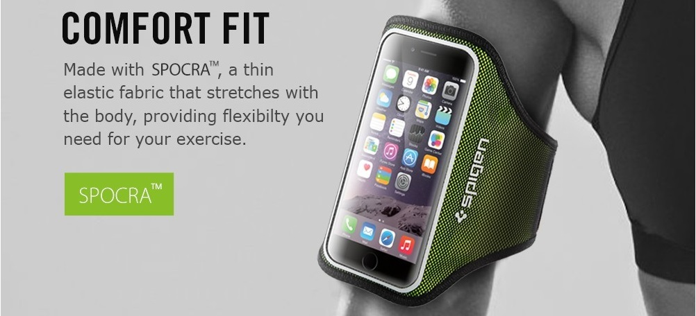 Спортивный чехол на предплечье Sgp Spigen Case Sport Armband для iPhone 6 и 6s.