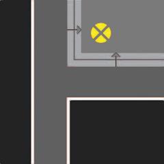 Аварийное освещение гостиниц в местах изменения уровня пола или покрытия