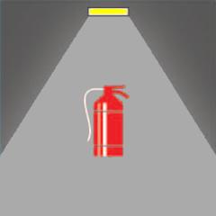 Аварийное освещение гостиниц в местах размещения средств пожаротушения, экстренной связи