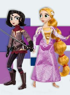 Куклы принцесса Рапунцель и Кассандра в наборе