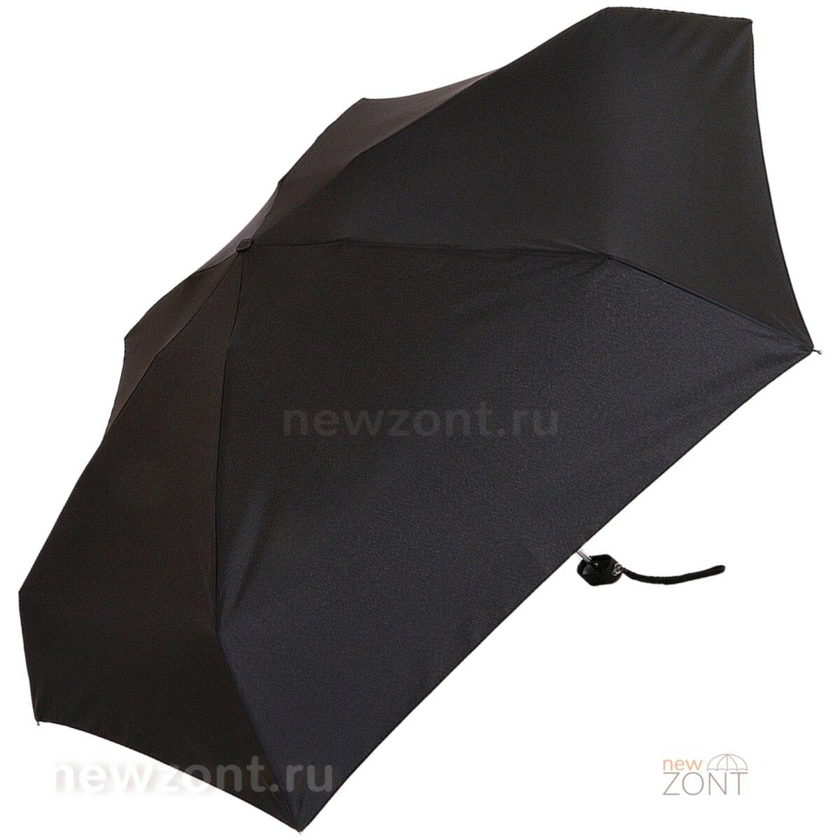 Большой купол мини зонта Ламберти черный