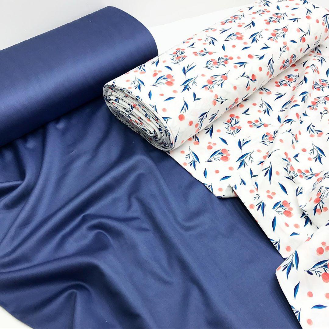 Ткань постельная сатин купить в интернете