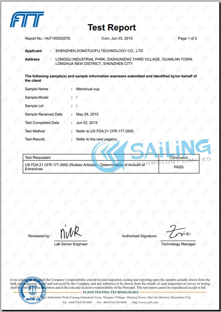 сертификат Lilu