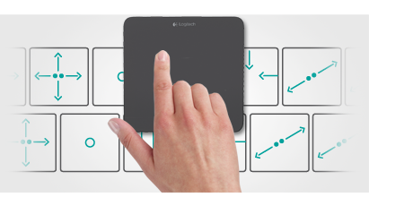 Беспроводная сенсорная панель T650 Wireless Rechargeable Touchpad