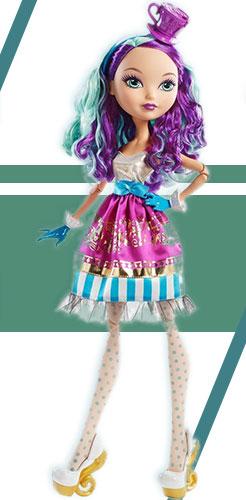 Кукла Меделин Хеттер 43 см, из Страна Чудес