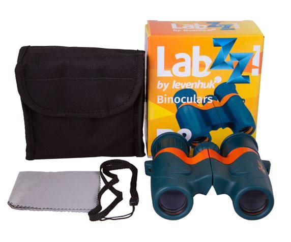 Бинокль Levenhuk LabZZ B2: комплект поставки