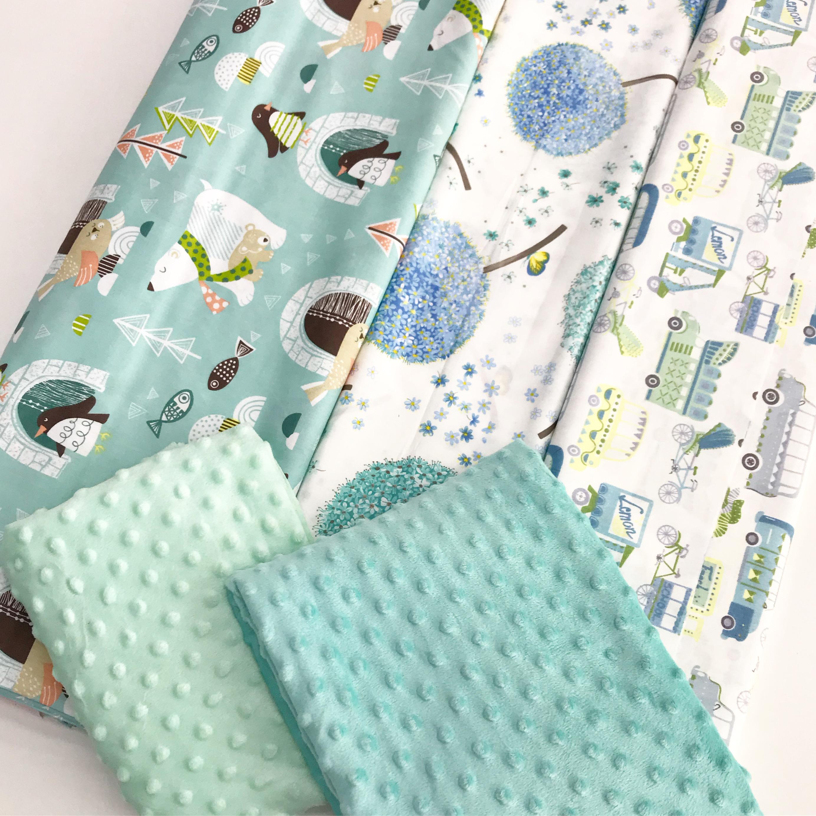 Купить детские ткани для пошива бортиков