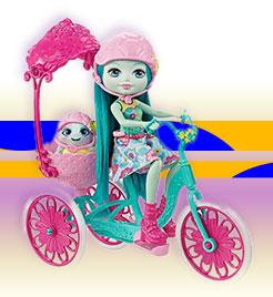 Enchantimals Игровой набор «Прогулка на велосипеде»