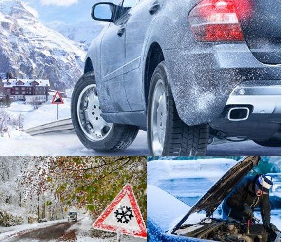 Запуск автомобиля зимой