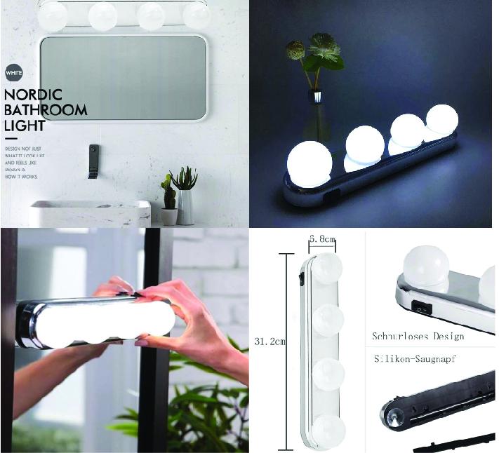 Лампа для макияжа и гримерного зеркала Studio Glow