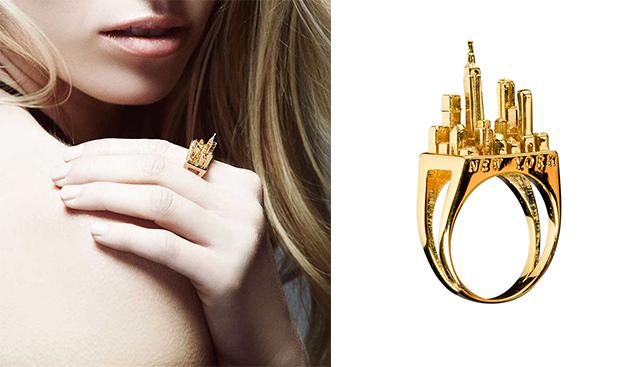 Кольцо NYC Gold от Artelier MX