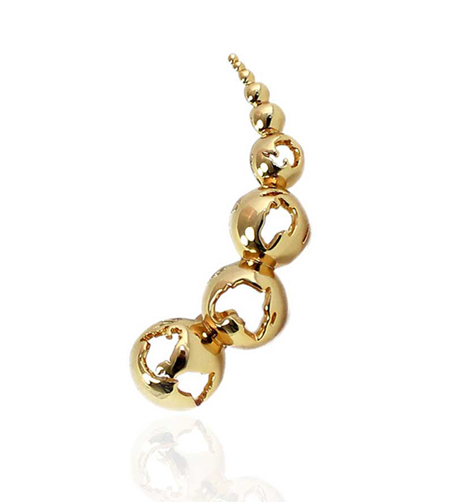 Серьга-кафф World Gold от Artelier MX