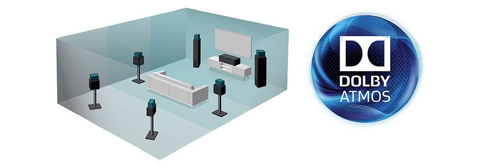 Комплект акустики Dolby Atmos 5.1.4 MartinLogan Motion