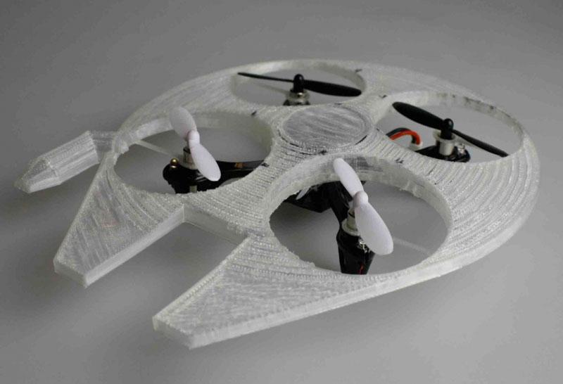 Millennium Falcon Drone Shel дрон квадрокоптер