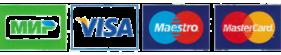 Логотипы платежных систем МПС