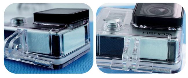 Антизапотевающие вставки в аквабокс для GoPro (набор 12шт)