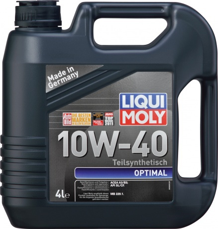 Оптимал масло LIqui Moly для Волги