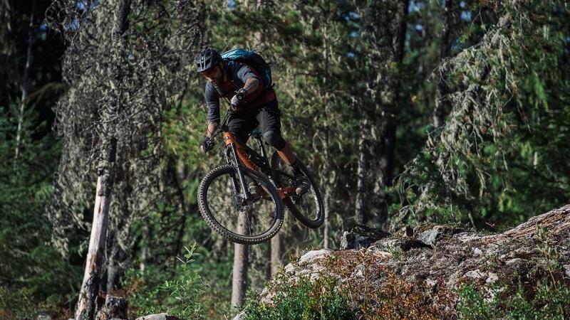 Как прыгать на велосипеде