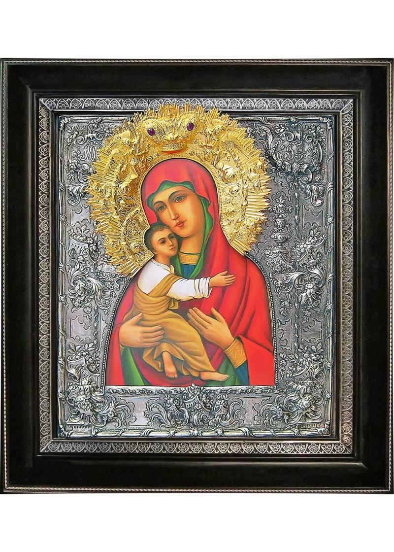 Владимирская икона Божьей Матери фото