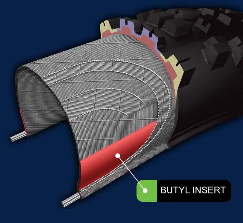 Бутиловый защитный слой в покрышке