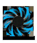 Практически бесшумный вентилятор