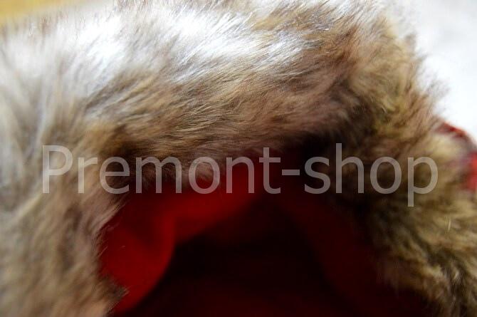 Опушка на комбинезоне Premont Красные льдинки