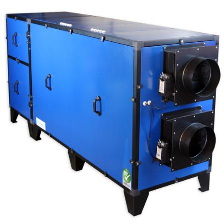 Установки Breezart серии Pool Pro для вентиляции бассейна с низким потреблением энергии