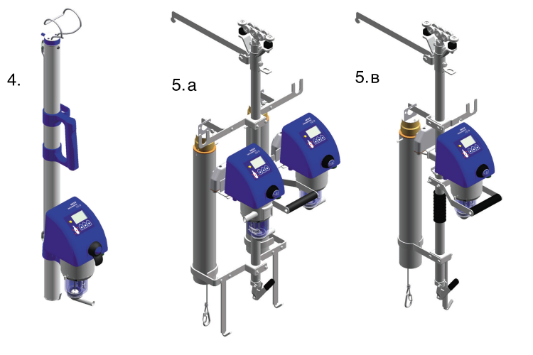 Типы счетчиков молока IDC T, IDCT Rail SAC