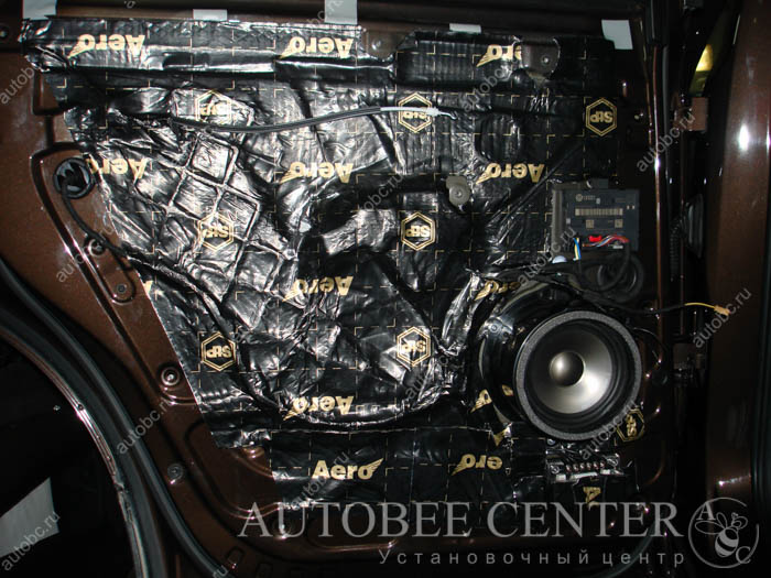 Проклейка, установка акустики