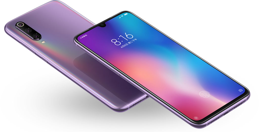 Смартфон Xiaomi Mi 9 фиолетовый