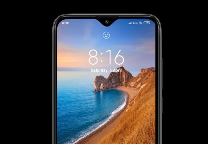 Смартфон Xiaomi Redmi 8 фронтальная камера