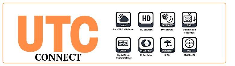 UTC управление для камер CAICO TECH по RG видео кабелю